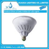color de 24W RGB que cambia la lámpara de la piscina de Simming de la bombilla de la piscina de PAR56 E27 LED para Pentair