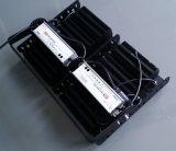 Estrutura preta única potência PI65 400W Holofote LED Luminárias