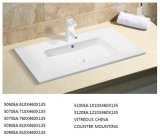 Sanitaryware Thin-Edge Rectangular 90cm Lavabo para baño vanidad (5090ea)