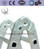 Scaletta multiuso di alluminio approvata della giuntura di cerniera En131