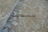 Nuovo tessuto da arredamento tessuto del reticolo di fiore jacquard