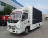 Véhicule de publicité mobile de Foton 4X2 5 tonnes de DEL de camion d'écran
