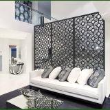 Laser geschnittene dekorative Edelstahl-Wohnzimmer-Teiler