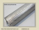 201 de geperforeerde Buis van het Roestvrij staal voor Automobiele Geluiddemper