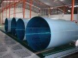 L'extrudeuse en plastique fabrique la feuille de cavité de polycarbonate de Tiwn-Mur de profil