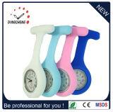 Promoción Estuche de silicona de personalizar el color a la enfermera reloj de cuarzo (DC-1144)