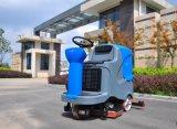 Piso de concreto Máquina limpiadora Limpiasuelos