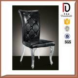 Metallrahmen-Schwarz-lederne speisende Bankett-Stühle für Hotel