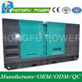 600kw 750kVA Cummins super leise/schalldichte Dieselgeneratoren Hongfu Marke