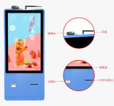 Touchscreen van 15.6 Duim de Kiosk van de zelf-Betaling voor LCD van de Maaltijd van de Orde het Scherm van de Aanraking