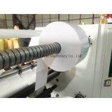 Rollo de papel Jumbo artesanales de la máquina de corte longitudinal con eje deslizante