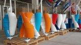спиральн вертикальный генератор ветротурбины оси 400W