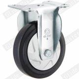 100mm 탄력 있는 고무 중간 의무 피마자 바퀴 G3414