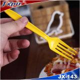 깊은 파란 찻숱가락 Dispasable 플라스틱 칼붙이 식기