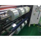 La mica de la alta calidad sujeta con cinta adhesiva la máquina que raja de alta velocidad con el eje del resbalón