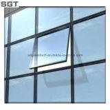 La varia talla templó el vidrio laminado/aislado para la puerta de la ventana del edificio
