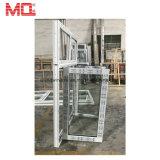 Ventana del marco del PVC Whosale con la ventana francesa de cristal de la depresión del gas del argón