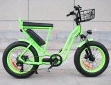 """20 """"都市脂肪質のタイヤの電気自転車"""