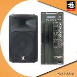 15 Spreker van Bluetooth van de Macht van de duim de Professionele 200W Plastic Actieve met FM pS-1715abt