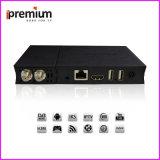 PRO DVB contenitore di ricevitore TV del decodificatore della casella superiore stabilita della ricevente satellite di Ipremium I9