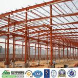 Almacén modular, vertiente del almacenaje de la estructura de acero