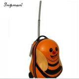 Bagagli caldi del sacchetto di banco del carrello dei bambini dell'ape sveglio del fumetto