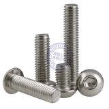 Tasten-Hauptschrauben-Hex Kontaktbuchse-gesetzte Maschinen-Schraube ISO7380