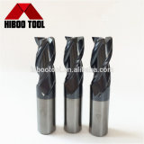 3flutes固体炭化物の表面-端製造所の切削工具