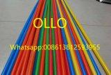 Colorear el conducto eléctrico del cableado del PVC