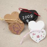 O OEM cortou o Tag do cair da etiqueta do casamento e do casamento para o presente em Guangzhou