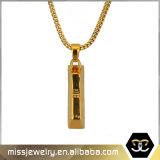 Halsband Mjhp054 van de Tegenhanger van de Staaf van Hip Hop 24K de Gouden