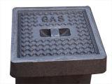 Pt124 B125 C250 D400 Tampa de Inspeção de Ferro Fundido