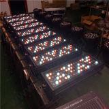 72PCS 3W RGBW im Freien LED Leistungs-Wand-Unterlegscheibe