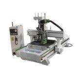 家具のための3匹のAix CNCのルーター機械1325年を製粉する最も安い木