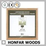 Kundenspezifischer Tischplattendekoration-festes Holz-Bilderrahmen
