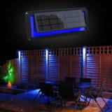 Lumens alto muro de LED Solar com Sensor de Som da lâmpada de Etapa