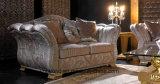 Sofá real clásico de la tela del estilo de madera sólida Sb52