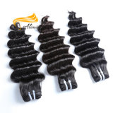 Prolonge intacte de cheveu d'armure de Péruviens de cheveux humains de cuticle