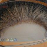 Perruque en soie de femmes de lacet ondulé court première (PPG-l-0760)