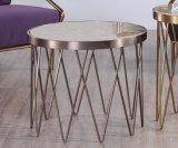 Stainlesss 강철 기초를 가진 거실 커피용 탁자