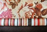 Tela de nylon do Knit de Tricot com flor da impressão