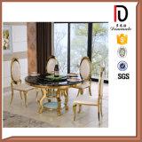 A sala de jantar de luxo moderno Cadeira de Aço Inoxidável
