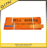 Ceinture de sécurité Orange pour sangle de levage plat élingue (NHWS-B)
