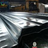 Гальванизированный раскрынный металлом лист Decking пола Tpye для Highrise здания