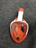 Toda la cara de silicona Anti-Leak Anti-Fog Submarinismo natación máscara de buceo