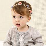 Großhandelsform-Baby-Haar-Zubehörbowknot-Hauptband-Blumen-Haar-Band