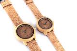 여자를 위한 본래 나무로 되는 시계 일본 운동 OEM 시계