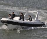 Liya 7,5 m de grands constructeurs de bateaux gonflables rigide Hypalon