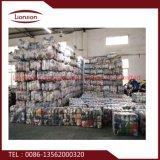 A embalagem misturada usou exportações da roupa