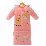 100% algodão bebê Saco de Dormir sobre Venda Saco de dormir para o bebé